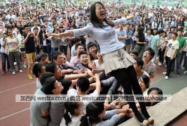 看看高考 震惊了世界的照片 - 妮子 - 妮